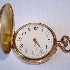 Reloj de bolsillo de oro de Eva Perón (Evita)