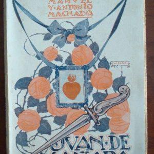 Juan de Mañara, teatro, Manuel y Antonio Machado, primera edición, 1927