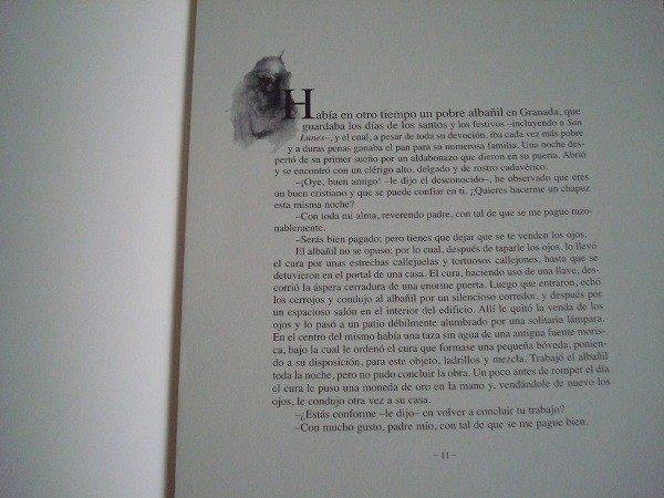 Cuentos de la Alhambra (selección), de Washington Irving, con litografías originales de David Zaafra