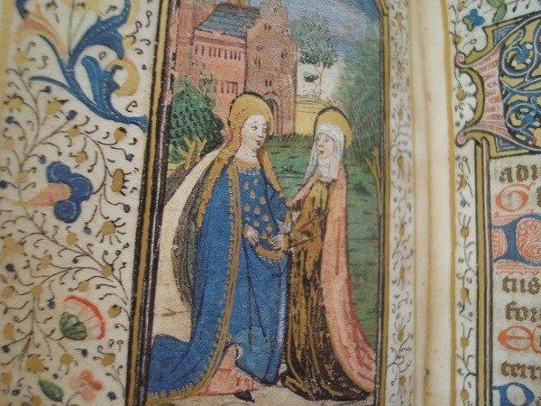 Libro Horas de la Virgen María, Flandes siglo XV