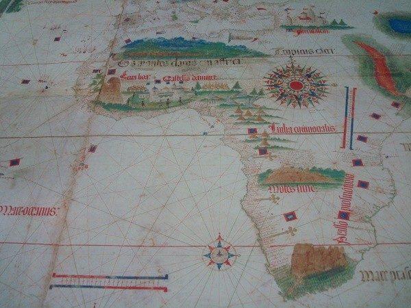 La Carta de Cantino, 1502, mapamundi