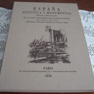 España Artística y Monumental, Genaro Pérez de Villa-Amil (edición Box) + Regalo