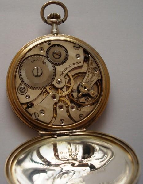 Reloj de bolsillo de 1915 Corgémont Watch en plata de Perón