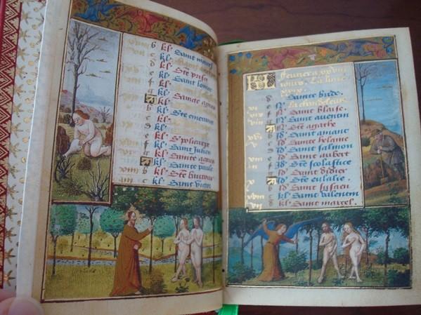 Libro de Horas de Le Peley (Jean Colombe), s. XV (mini libro)