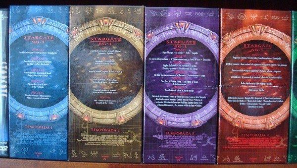 Stargate SG-1, 6 primeras temporadas en DVD, primera edición española