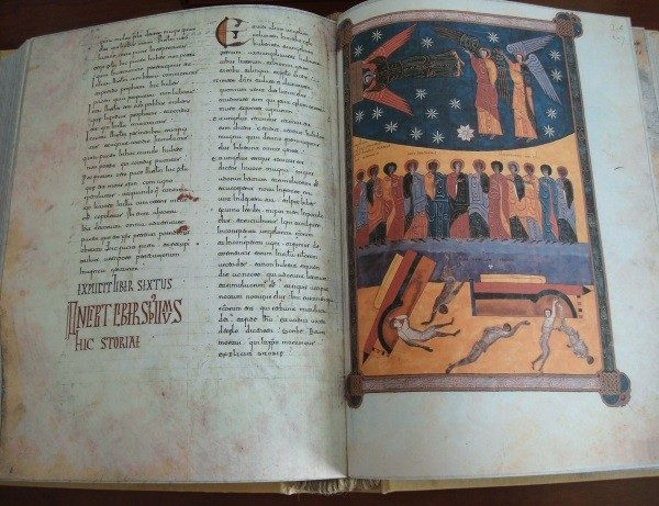 Beato de Liébana códice de Fernando I y Doña Sancha, año 1047 (AdC)