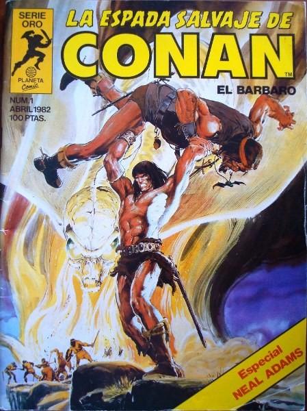 Conan: La Espada Salvaje de Conan, ejemplares sueltos