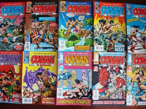 Conan el Bárbaro, ejemplares sueltos (desde 1983 a 1992)