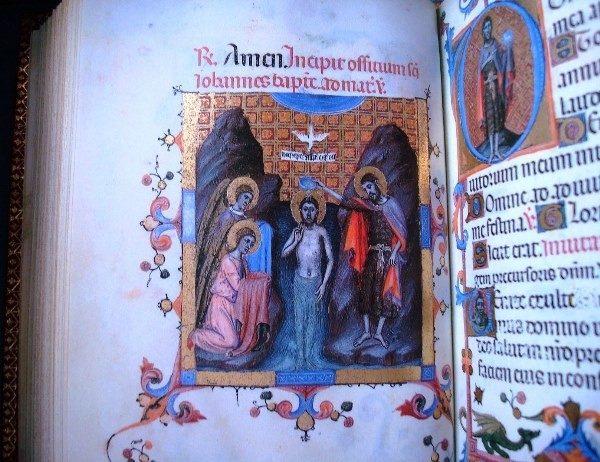 Libro de Horas de María de Navarra, siglo XIV