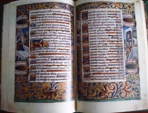 Libro de Horas de Carlos VIII Rey de Francia, s.XV (AdC)