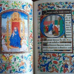 Libro de Horas de María de Borgoña, año 1477, edición económica