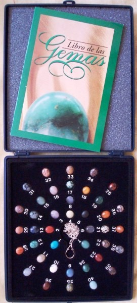 Colección de 40 Gemas con colgante intercambiable