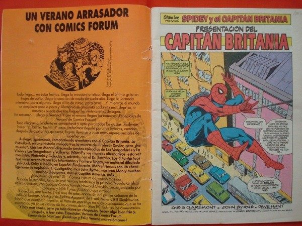 Spiderman, especial verano 1990, cómic