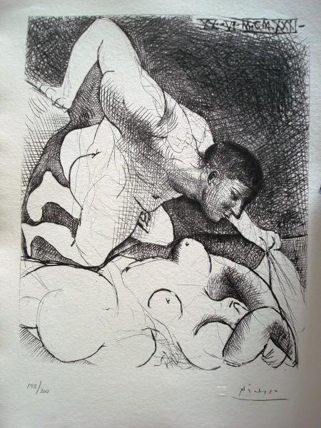 Picasso: Suite Vollard completa, edición de 1992