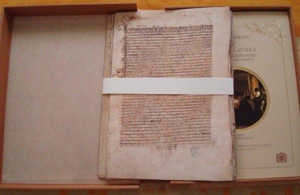 Testamento y Codicilo de Isabel la Católica, s. XVI