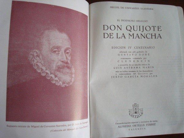 Don Quijote, Cervantes, com. Clemencín, Ilust. Doré, 1967