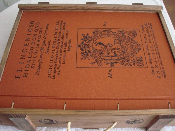 Don Quijote, Cervantes, edición de 1998 de CIL: Quijotón (el más grande)