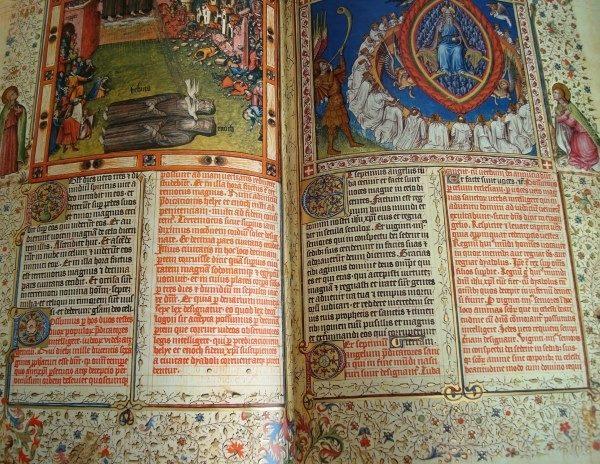 Apocalipsis figurado de los Duques de Saboya, siglo XV (Edilán)