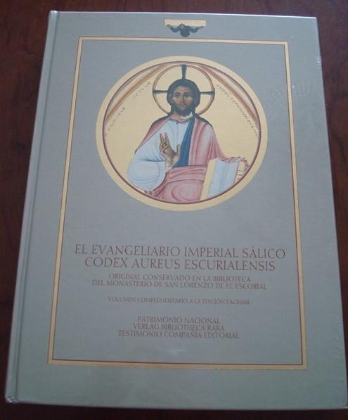 Códice Áureo, Codex Aureus Escurialensis. El Evangeliario Imperial Sálico. s. XI (5*+)