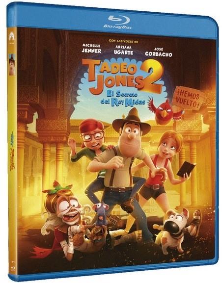 Tadeo Jones 2: El Secreto del Rey Midas, en Blu-ray, nuevo