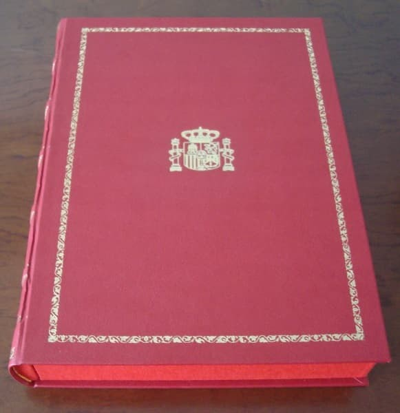 Constitución Española de 1978, edición de lujo, actualizada
