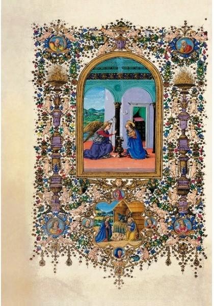 Libro de Horas de Lorenzo de Médici, s. XV *****