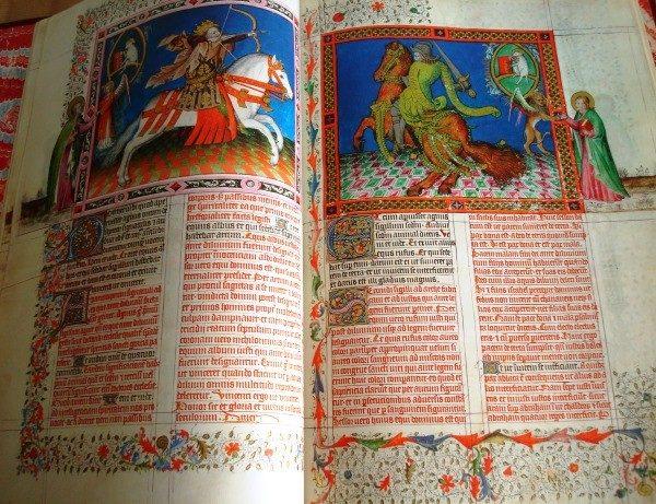 Apocalipsis de El Escorial (Apocalipsis Figurado de los Duques de Saboya), s. XV (Versol)