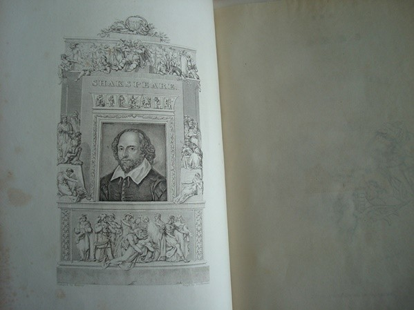 1835 The Dramatic Works and Poems of William Shakespeare