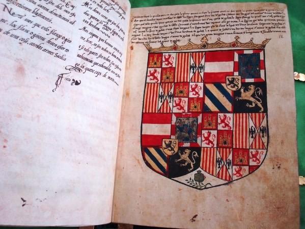 Armorial de Salamanca, c. 1518 (Nº. 1)