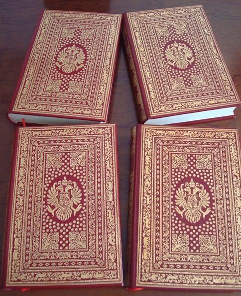 Don Quijote, Cervantes, Círculo del Bibliófilo, 1975, 4 tomos