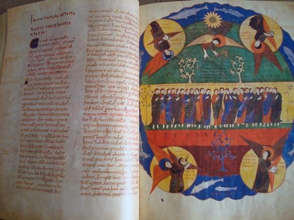 Beato de Liébana códice de Saint-Sever (Imaginería), s.XI