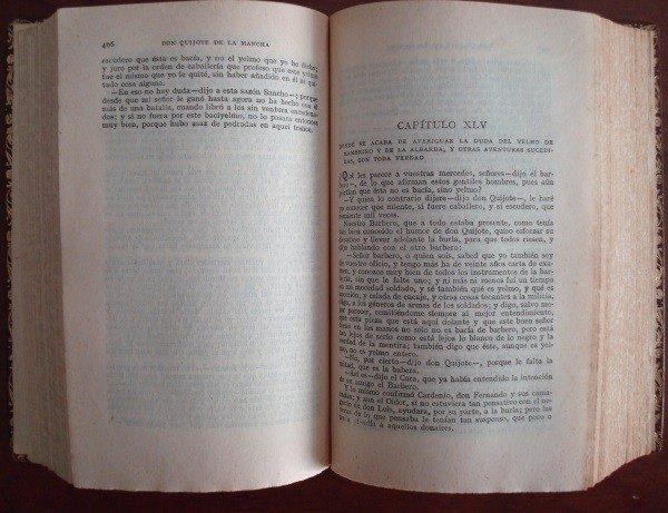 1900 Don Quijote de La Mancha, Cervantes, Calleja