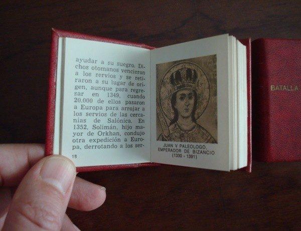Grandes Batallas, 2 mini libros