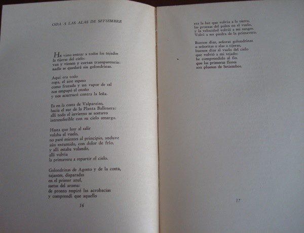 1959 Navegaciones y Regresos, Pablo Neruda, primera edición