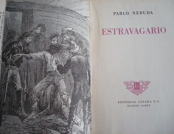 1958 Estravagario, Pablo Neruda, primera edición