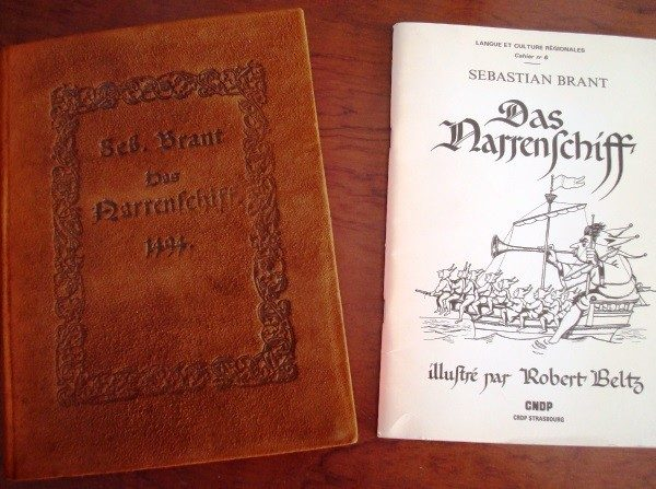 Das Narrenschiff. Faksimile der erstausgabe von 1494. Sebastian Brant
