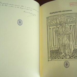 El pelegrino de la vida humana, Guillaume de Digudeville, incunable de 1490