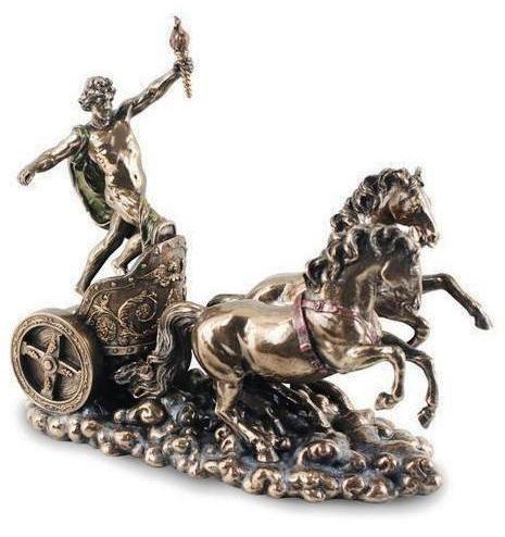 Escultura del dios griego Apolo
