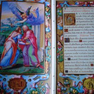 Libro de Horas de Felipe II, año 1568, Escorial