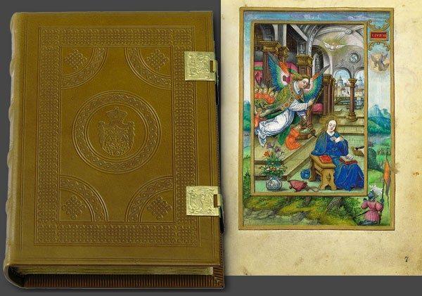 Libro de Oración de Alberto de Brandeburgo, año 1534