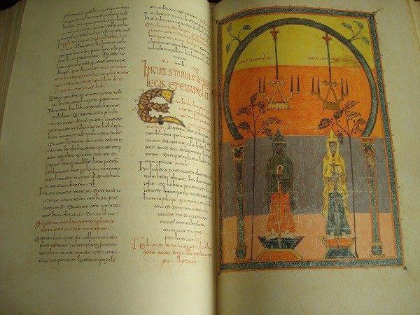 Beato de Liébana códice de Gerona, año 975 (Moleiro)