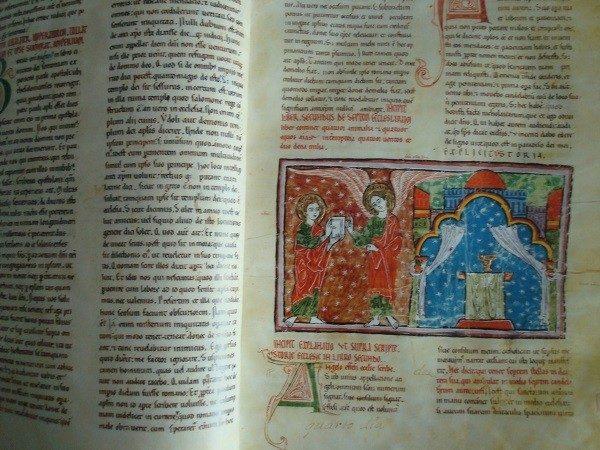 Beato de Liébana códice Monasterio de Las Huelgas, 1220 *****