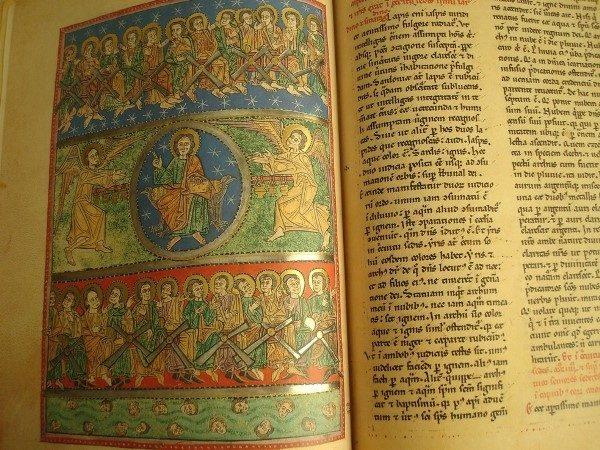 Beato de Liébana códice de San Andrés de Arroyo, c. 1220