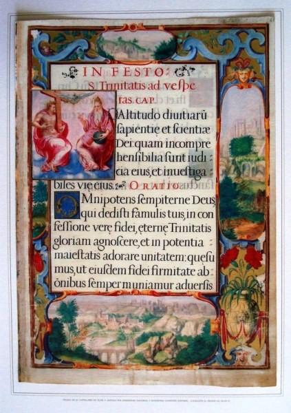 Hojas del Capitulario de Felipe II, s. XVI