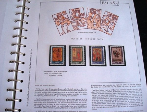1991-1995 Sellos de Correos de España