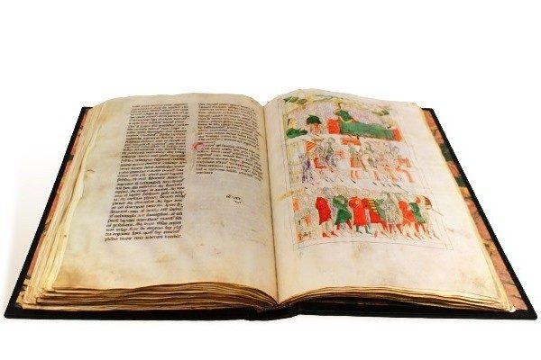 Codex Calixtinus, códice de Salamanca, c. 1325