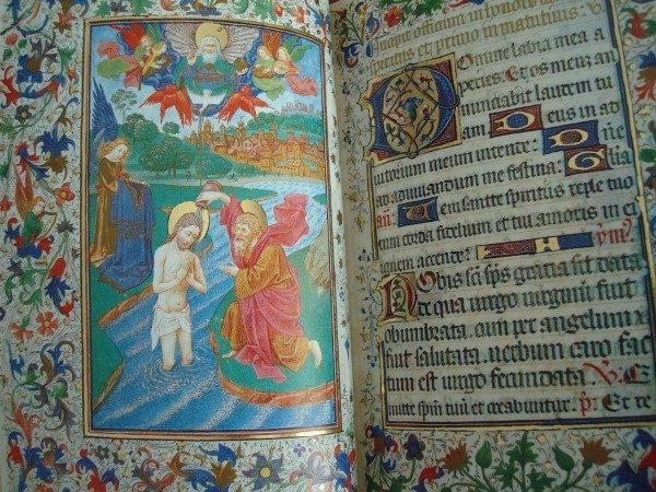 Libro de Horas de Isabel la Católica, siglo XV (encuadernación lujo) *****