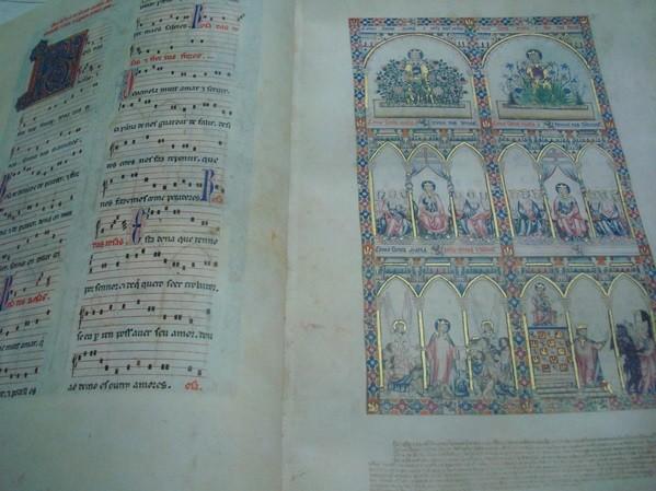 Cantigas de Santa María, Alfonso X el Sabio, s. XIII, códice Rico de El Escorial (5*+)