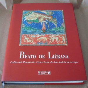 Libro estudio del Beato de Liébana códice del Monasterio de San Andrés de Arroyo