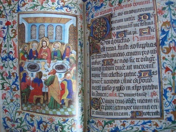 Libro de Horas de Isabel la Católica, siglo XV (encuadernación mudéjar)